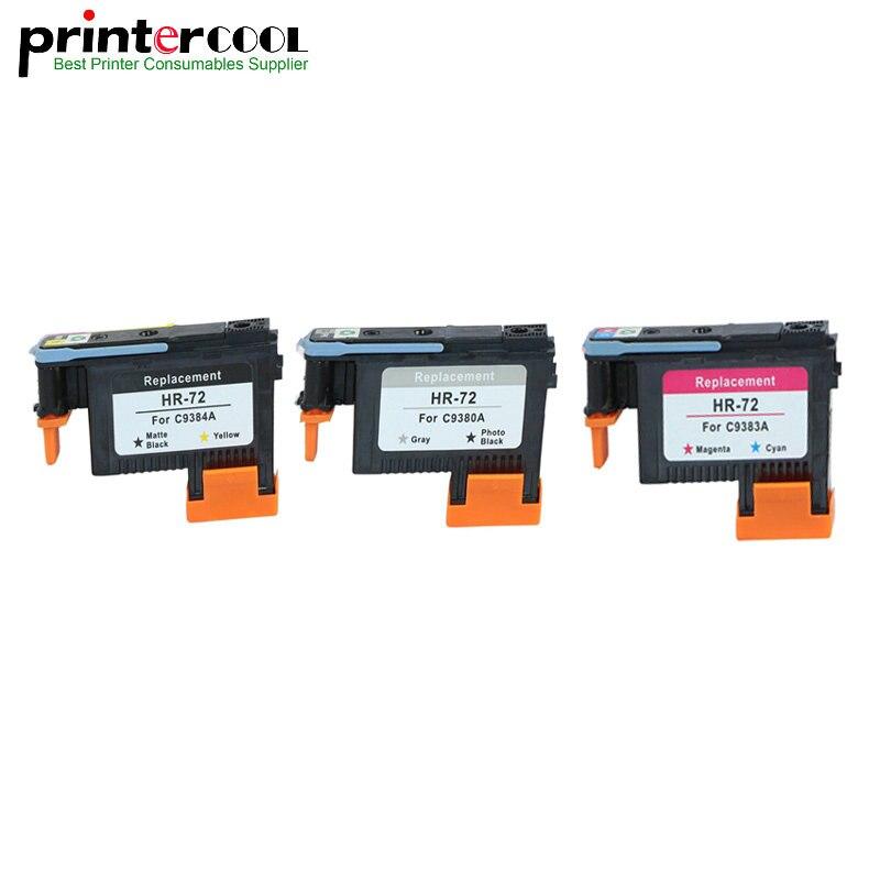 Einkshop T1300ps do Cabeçote de Impressão para HP 72 DesignJet T1120ps T2300 T790 T1100 T610 T770 T1200 T1120 Impressora C9380A C9383A C9384A