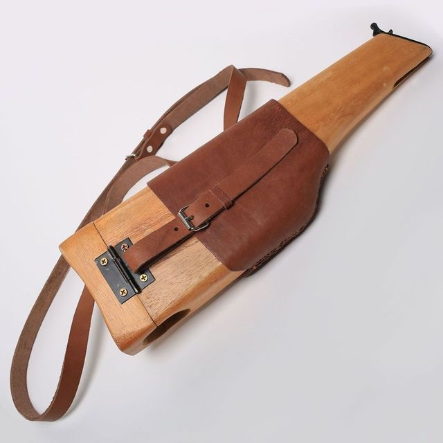 US $53 98 10% OFF|Replica WWII C96 German Army Woode Holster Stock Mauser  Broomhandle Butt-in Sports Souvenirs from Sports & Entertainment on