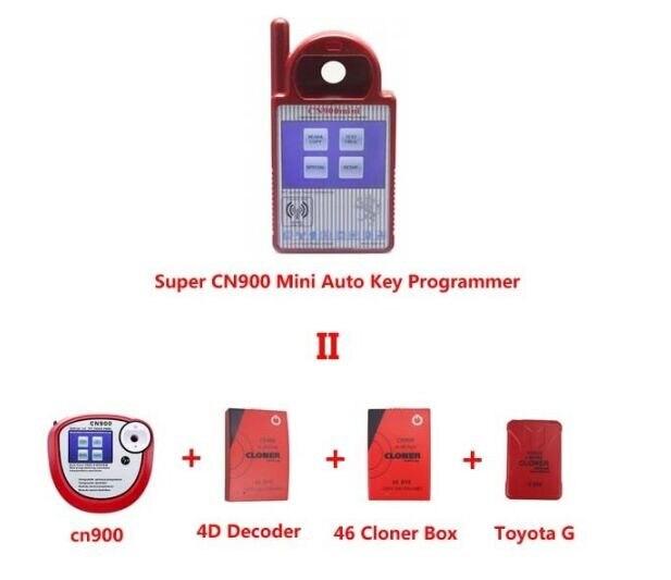 Prix pour 2017 Nouveau! CN900 Auto Key Programmeur Mini CN900 super funtion comprennent 4D, 46 et G CN900 MINI clé transpondeur mieux que CN900