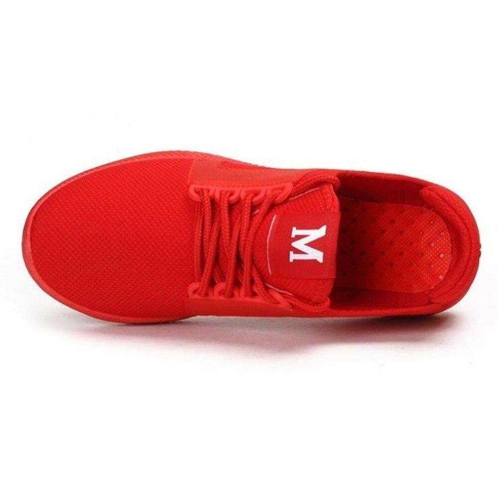 Paire red Décontracté Confortable Hommes Amant Femmes De Baskets Mode 295511 Quotidienne Plein Sport Antidérapante Black Couple Et 1 Air Chaussures En dRSwAxd