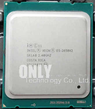 Free shipping E5-2658V2 Original Intel Xeon E5-2658 V2 2.40GHz 10-core 25MB LGA2011 E5 2658V2 Processor