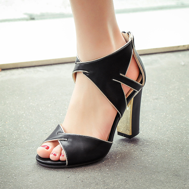 Fashion Desig Summer Style High Heels Ladies Shoes Checkered Pointed Toe Shoes Women Pumps Gladiator Sandals Zapatos Mujer 2017 new spring summer shoes for women high heeled wedding pointed toe fashion women s pumps ladies zapatos mujer high heels 9cm
