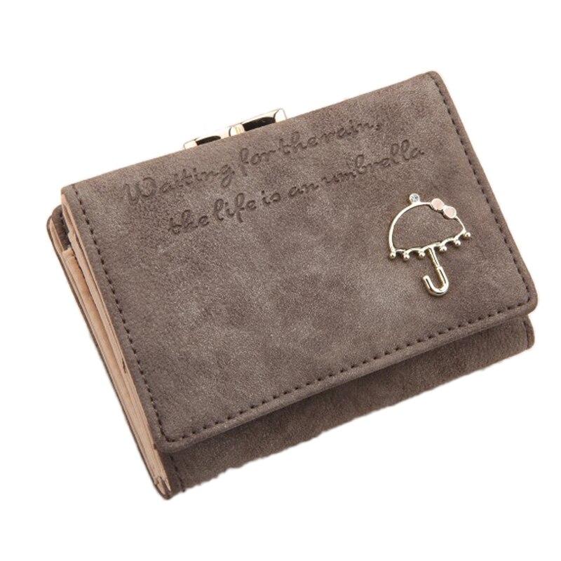 Fashion Women Button Clutch Purse Short Wallet Card Holder Purse Gift portefeuilles des women wallets brand design