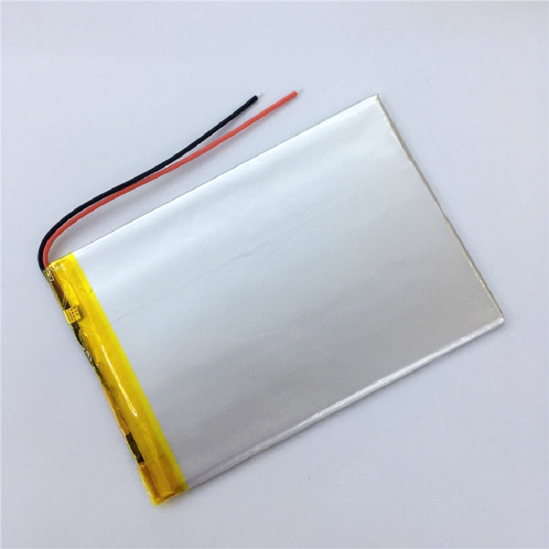 <font><b>4070100</b></font> Lithium Polymer Battery W/protection Board for MID 7 inch Tablet PC MP4 MP5 GPS Rechargeable Bateria Repalcement+Tracked image