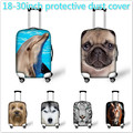 High Quality Animal Print Waterproof Suitcase Cover Apply For 18-30 inch Suitcase Elastic Travel Luggage Cover Free Shipping