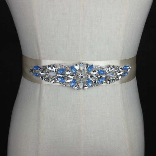 Designer S Special Design In Red Color Bridal Belt Crystal Wedding