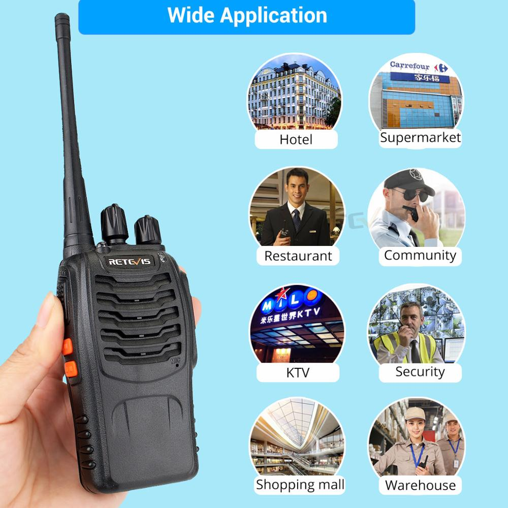 Image 5 - 2 pcs Retevis H777 Professional Walkie Talkie Handy Two Way Radio Station Transceiver Two Way Radio Communicator Walkie Talkie-in Walkie Talkie from Cellphones & Telecommunications