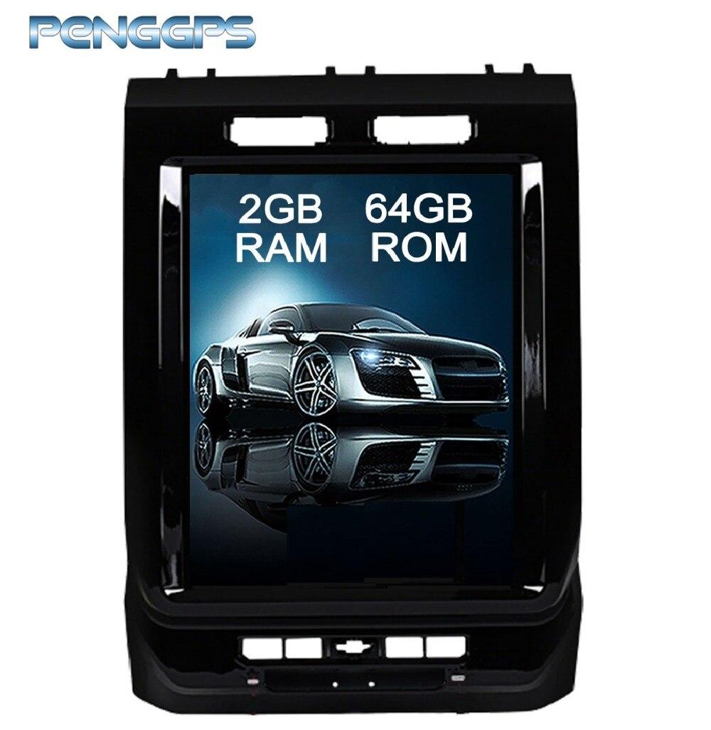Tesla Style 12.1 pouce Android 6.0 Voiture GPS Navigation DVD Lecteur Unité pour Ford F150 2015 2016 2017 Double Din voiture Radio Headunit