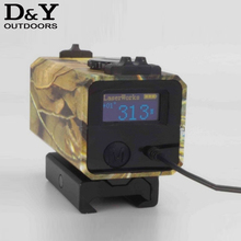 700m Mini Laser Rangefinder for Riflescope laser sight Rifle Scope Mate Laser scope  distance meter for hunting LS002