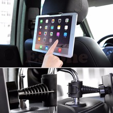 Headrest degree mount ipad galaxy seat tablet back holder car for