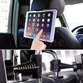360 grados asiento trasero del coche reposacabezas soporte ajustable para ipad mini/1/2/3/4/aire galaxy tablet