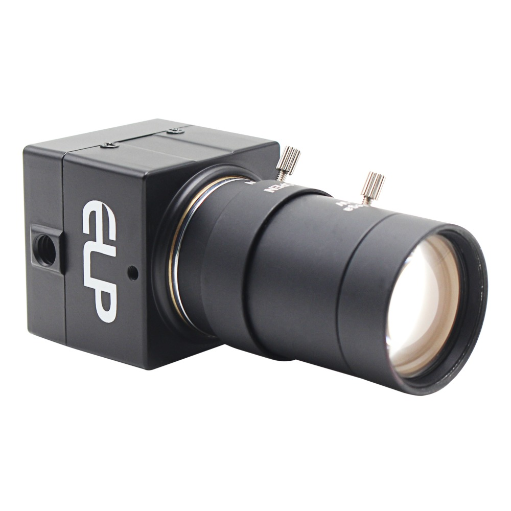 ELP Professional HD Webcam Plug Play 720P 30fps MJPEG/YUY2 Manual Focus Zoom Camera USB With Varifocal Lens 5-50mm Lens ov5640 5megapixel mini micro usb camera mjpeg usb webcam with 30 degree auto focus lens elp usb500w02m af30