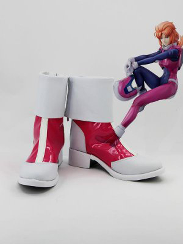 MOBILE SUIT GUNDAM Unicorn Marida Cruz Cosplay Boots Shoes Anime Party Cosplay Boots for Adult Women Shoes