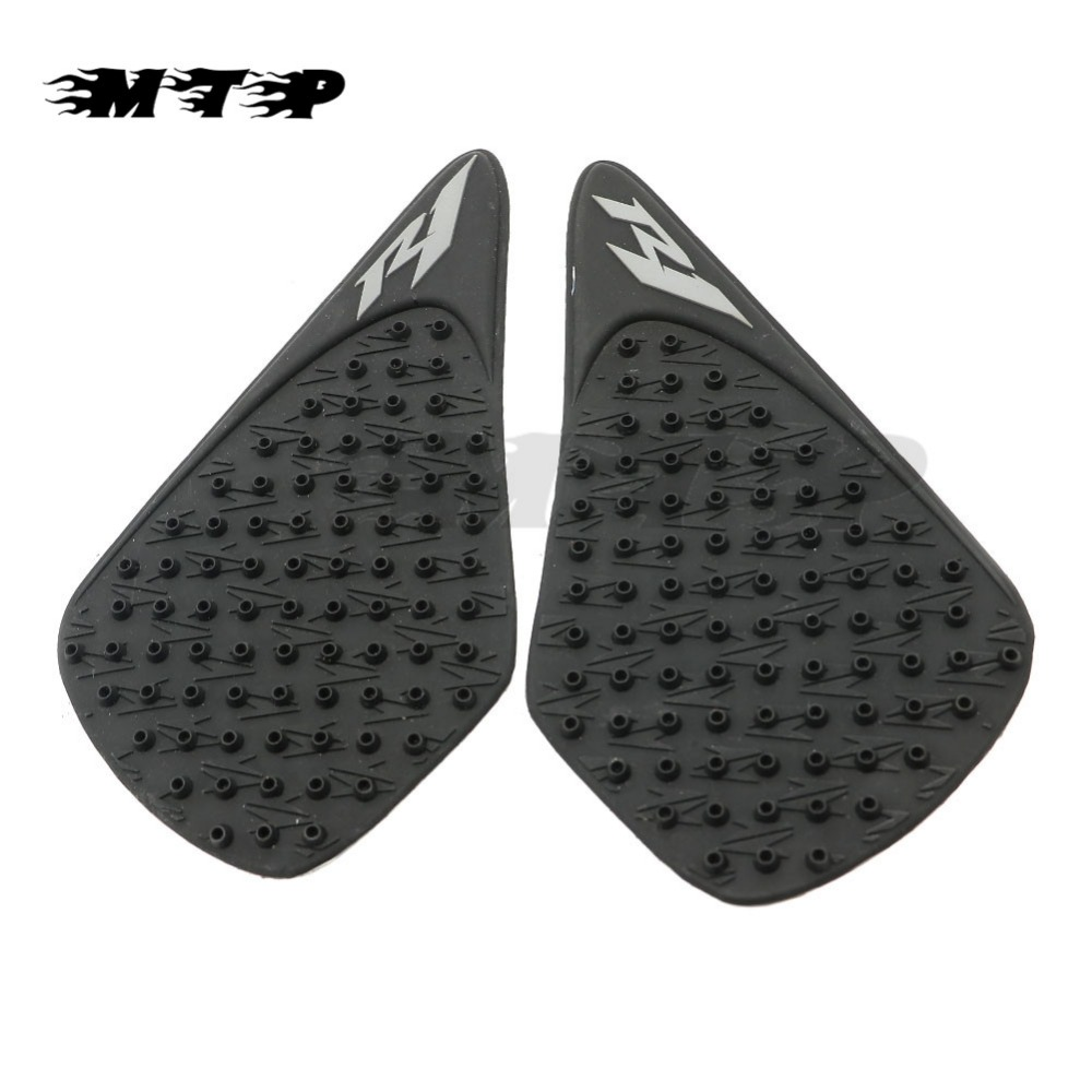 Decals & Stickers Motorbike Accessories Motorcycle Adhesive Tank Side Knee Traction Grip Pad Decal Tank Anti-slip Sticker For Yamaha Yzf R1 Yzf1000 2004-2006 Yzf 1000