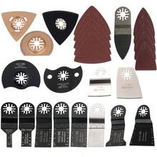 66pcs Oscillating Multi Tool Saw Blades for FEIN,BOSCH,Dremel,Makita Multitool cutting for nail,wood,laminates,plastic