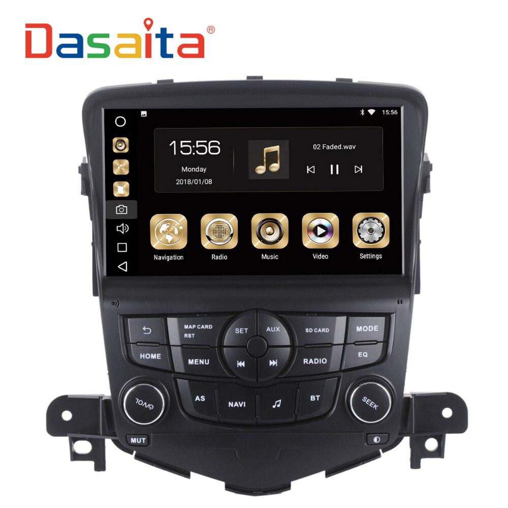 Dasaita 8 Android 8,0 автомобиль gps радио для Chevrolet Cruze 2008-2011 с Octa Core 4 ГБ + 32 ГБ Авто Стерео Navi мультимедиа