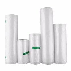 Nosii 12x500 15x500 20x500 cm Sealer Vakuumnahrungsmittelbeutel Rolle Lagerung Tasche Frische-halten Sicherheit Saver Verpackung Küche Obst Gemüse Werkzeug