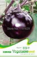(Mix minimum order $5)1 original pack 30 seeds,round eggplant seeds  Vegetable seeds free shipping