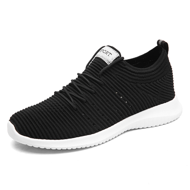 Для мужчин ткачество кроссовки Сетка кроссовки легкий дышащий материал спортивная обувь для Для мужчин открытый спортивная прочный Мужская обувь