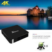 Android 9.0 Smart TV Box X88 Mini 2G Ram 16 G Rom 4K HDR Media Player Support H.265 UHD 2.4Ghz Wifi Set Top Box RK3318 Quad-Core zidoo x10 smart tv box quad core android 6 0 4k tv box 2g 16g dual band wifi hdmi 2 0 hdr media player 1000m lan set top box