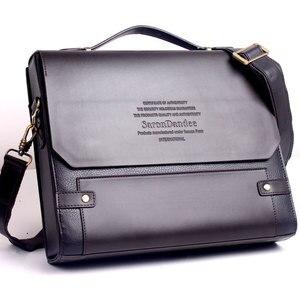 Men's PU leather laptop bag me