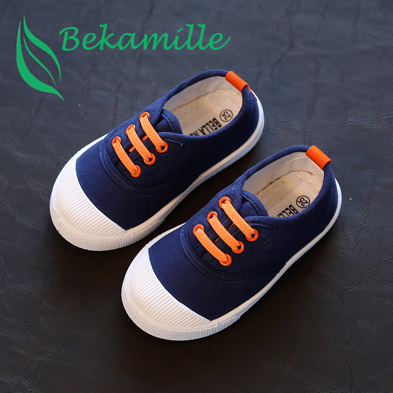 2017 New children shoes for kids sneakers baby boys and girls canvas sp