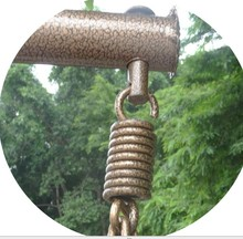 Type spring hook lifts bolt hanging basket chair accessories wholesale rattan furniture hardware