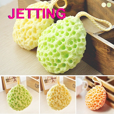 High Quality Face Cleaning Sponge Wholesale Bath Scrubber Shower Spa Sponge Body Cleaning Scrub Sanitary Ware Suite