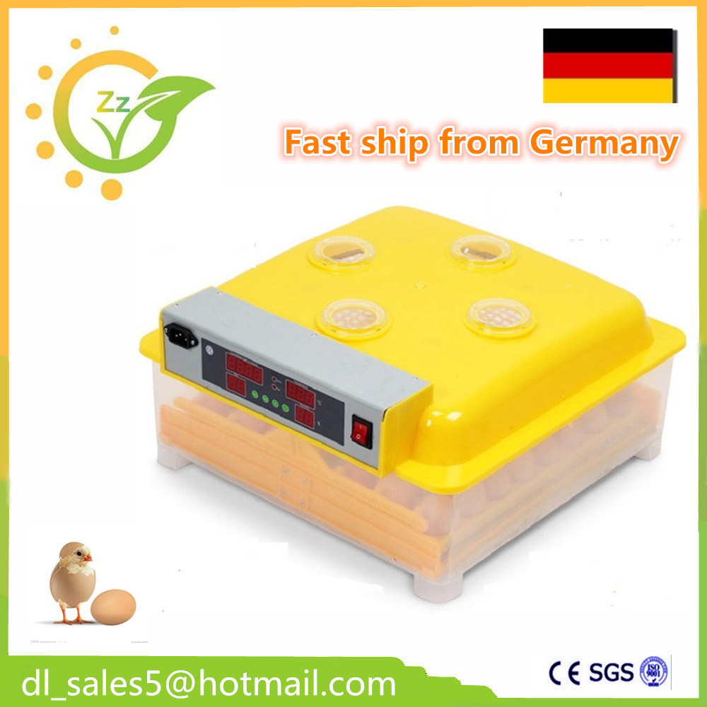 Fast shipping ! Mini Chicken Cheap egg incubator Automatic quail brooder hatcher Machines hatching eggs chicken egg incubator hatcher 48 automatic mini parrot egg incubators hatcher hatching machines
