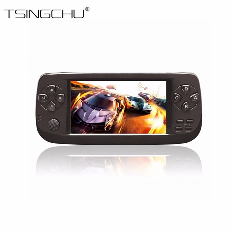 10PCS PAP KIII TV Video Game Console 64Bit 4.3 Built-in 653 Classic Games Portable Handheld Game Player Support TV AV Output K3