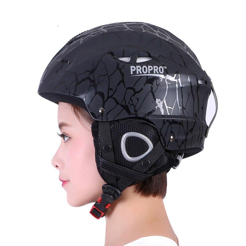 Casque de ski d'extérieur haute qualité PROPRO casque de ski ABS + EPS coupe-vent garder au chaud adultes Snowboard hommes femmes patinage casquette de protection