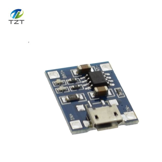 50pcs TP4056 1A Lipo Battery Charging Board Charger Module lithium battery DIY MICRO Port Mike USB