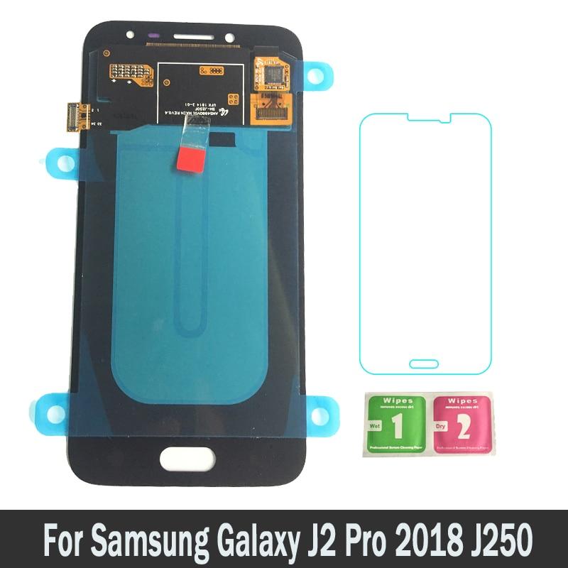 100% New LCDs For Samsung Galaxy J2 Pro 2018 J250 J250M J250F LCD Display Screen Display Touch Digitizer Replacement Assembly100% New LCDs For Samsung Galaxy J2 Pro 2018 J250 J250M J250F LCD Display Screen Display Touch Digitizer Replacement Assembly