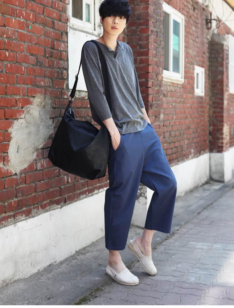 2015 new fashion Autumn England style street wild Wide leg pants ...