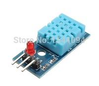 DHT11 Temperature and Humidity Sensor Module with LED Power Supply Indicators