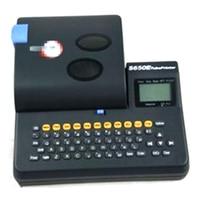 ПВХ трубы принтера Eletronic надписи машина кабель ID провод принтера маркер S 650E