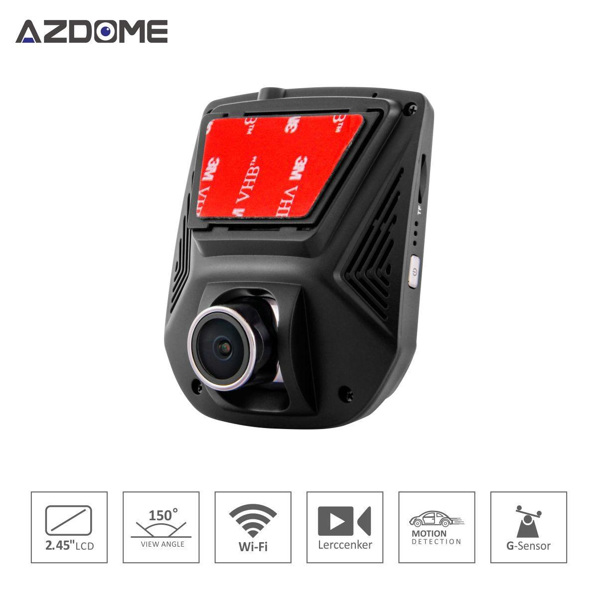 A305 Novatek 96658 Full HD1080P WiFi Car Camera DVR 2.45 inch Display IPS G-Sensor Sony IMX323 Video Recorder Dash Cam for honda ridgeline novatek 96658 fhd 1080p car driving video recorder mini dvr wifi camera black box dash cam