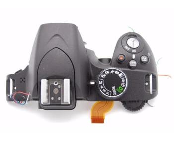 95%new D3200 open unit For nikon D3200 top shell D3200 Top Cover Outer Shell With unit Flash camera repair parts