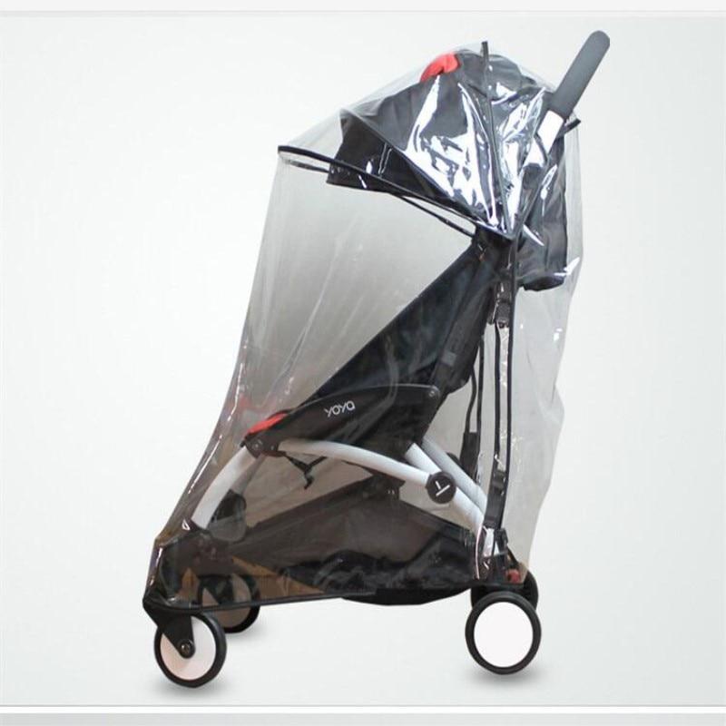 Large Accessoires Poussette b/éb/é Habillage Pluie pour Babyzen Yoyo Yoya Imperm/éable Imperm/éable au Vent