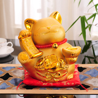 Lucky Cat Ornaments Opened Gifts Genuine Japanese King Ceramic Ornaments Shop Creative Gift Money Piggy Bank