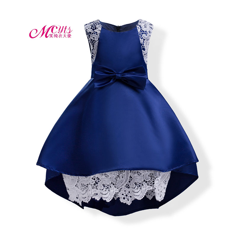 Girls Party Clothing for Children Summer Sleeveless Princess Wedding Dresses Girls Well Party Prom Dress 3 4 5 6 7 8 9 10 Years fashion 2 3 4 5 6 7 8 years girls children wedding clothes flying sleeve ruffles short birthday princess dresses for party