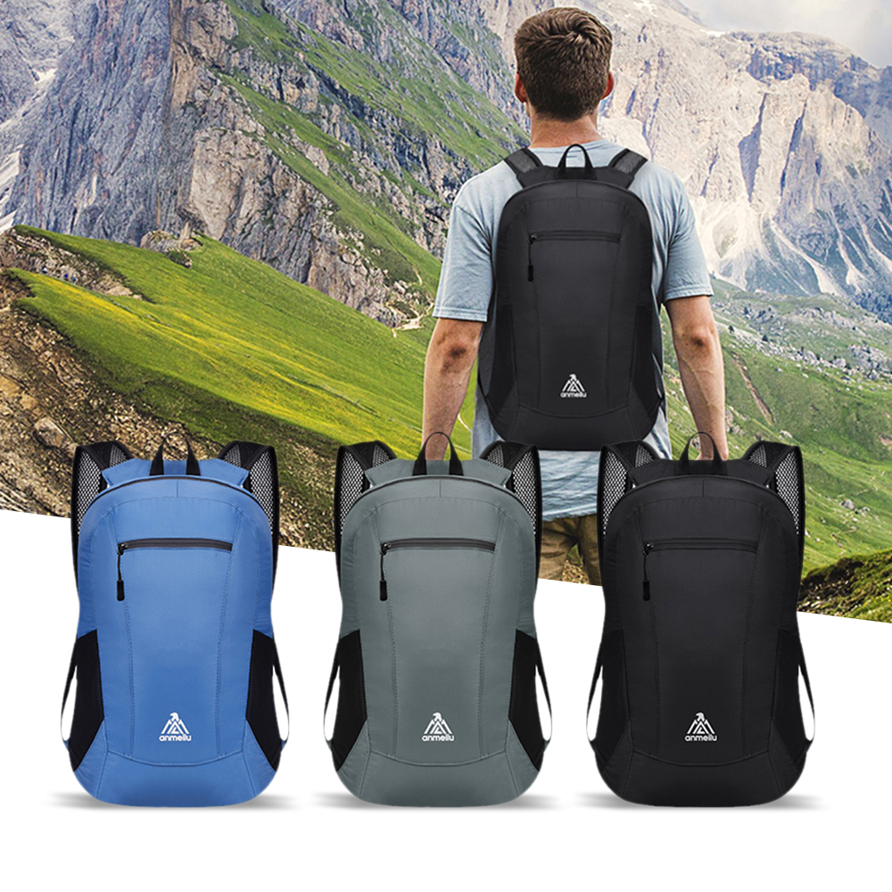 18l Foldable Ultralight Fitness Sport Gym Bags Waterproof Cycling Backpack Men Women Outdoor Camping Hiking Travel Climbing Bags Up-To-Date Styling Climbing Bags