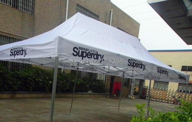 M m qualilty alluminio gazebo pieghevole tenda per esterno