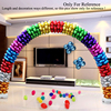 Wedding Balloons Arch Set For Anniversary Ceremony Party Decorations With Heart Foil Balloons