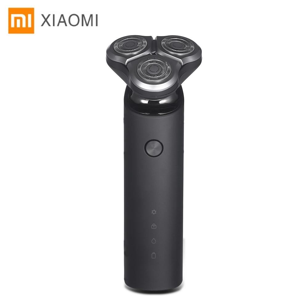 Xiaomi Original Electric Shaver 3 Blade Flex Razor Head Dry Wet Shaving Washable Main-Sub Dual Blade Turbo+ Mode Comfy Clean