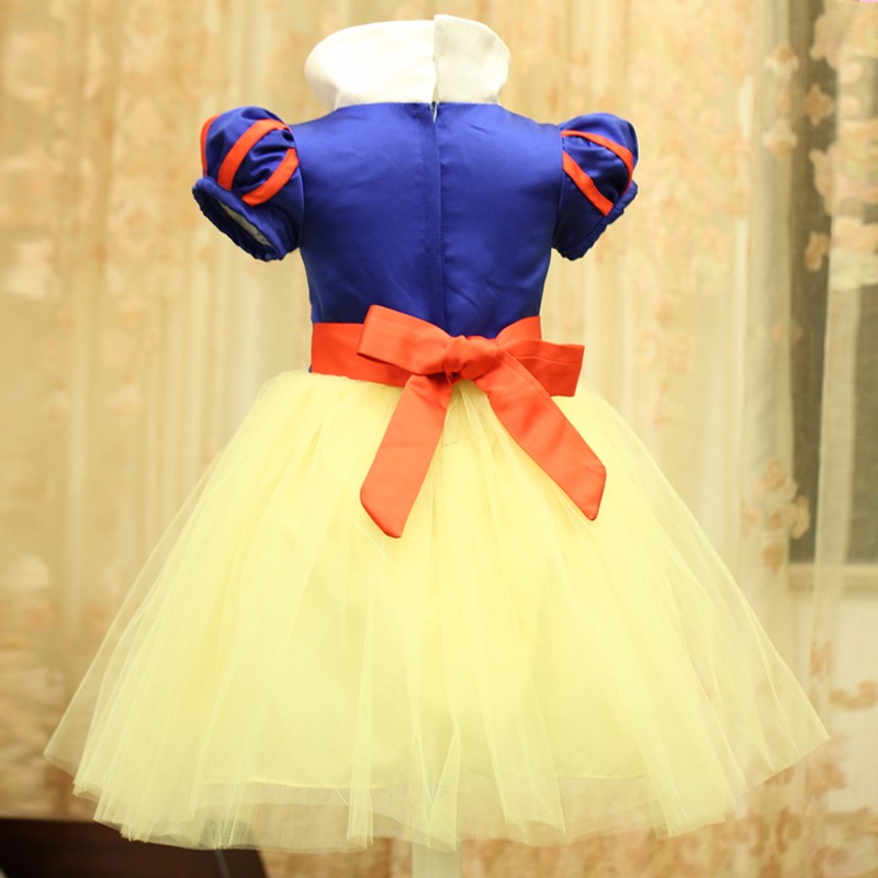 1b1ff9cd40053 US $7.6 24% OFF|3 PCS Baby Girl Cosplay Party Dress Children Snow White  Costume Children Infant Fancy Halloween Princess Costumes for Girls-in  Dresses ...