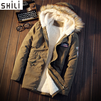 Men Coat 2017 Hot Sale Men's Solid Causal Long Warm Coat Male Fashion Padded Hooded Winter Wear Thick Coat