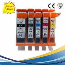 PGI-150 PGI-150XL CLI-151 PGI150 PGI 150 чернильные картриджи Замена для Canon Pixma MG 6310 6410 5410 7110 IP 7210 струйный принтер