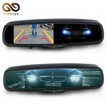 Auto Dimmen 4,3 TFT LCD HD 800*480 Spezielle Halterung Auto parkplatz Rückansicht Rückspiegel Monitor Für Toyota Kia Hyundai Nissan