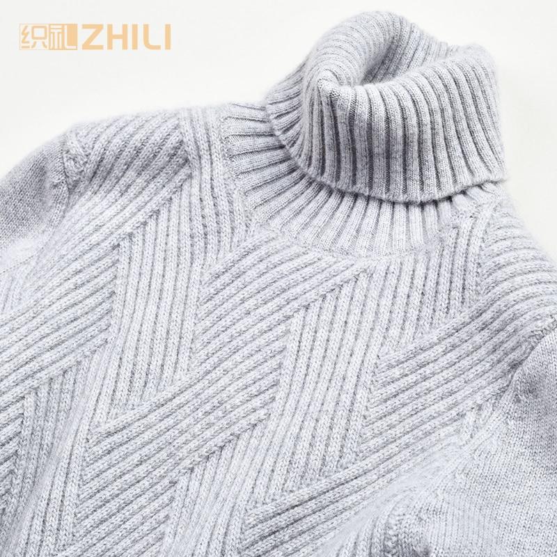 gris Beige Et Roulé De Mince Pull Base Chandail Col Chemise Cachemire Femelle En L'hiver Automne vHO6wgxCq